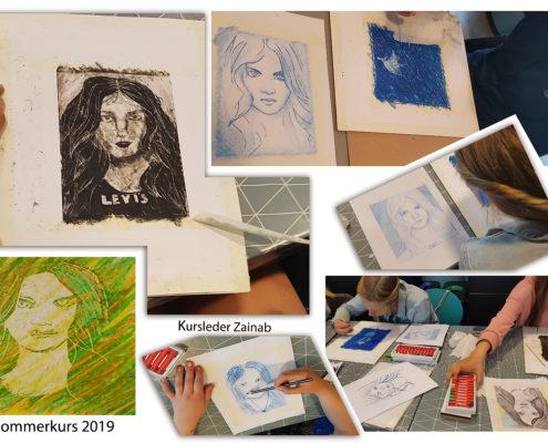 Sommerkurs i tegning & maling