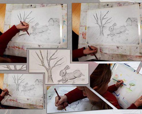 Tegne og malekurs for barn