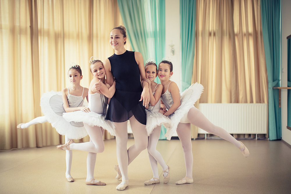 Kurs i barnedans og ballett