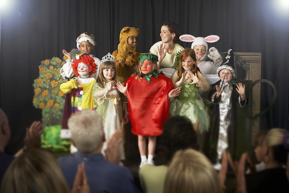 Teaterkurs for barn og ungdom
