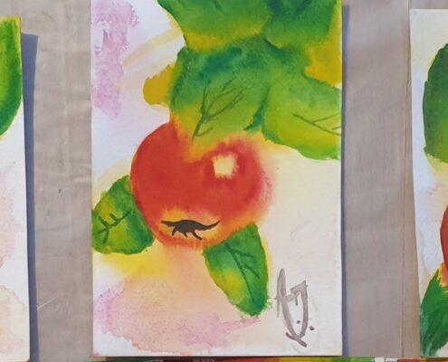 Malekurs eple